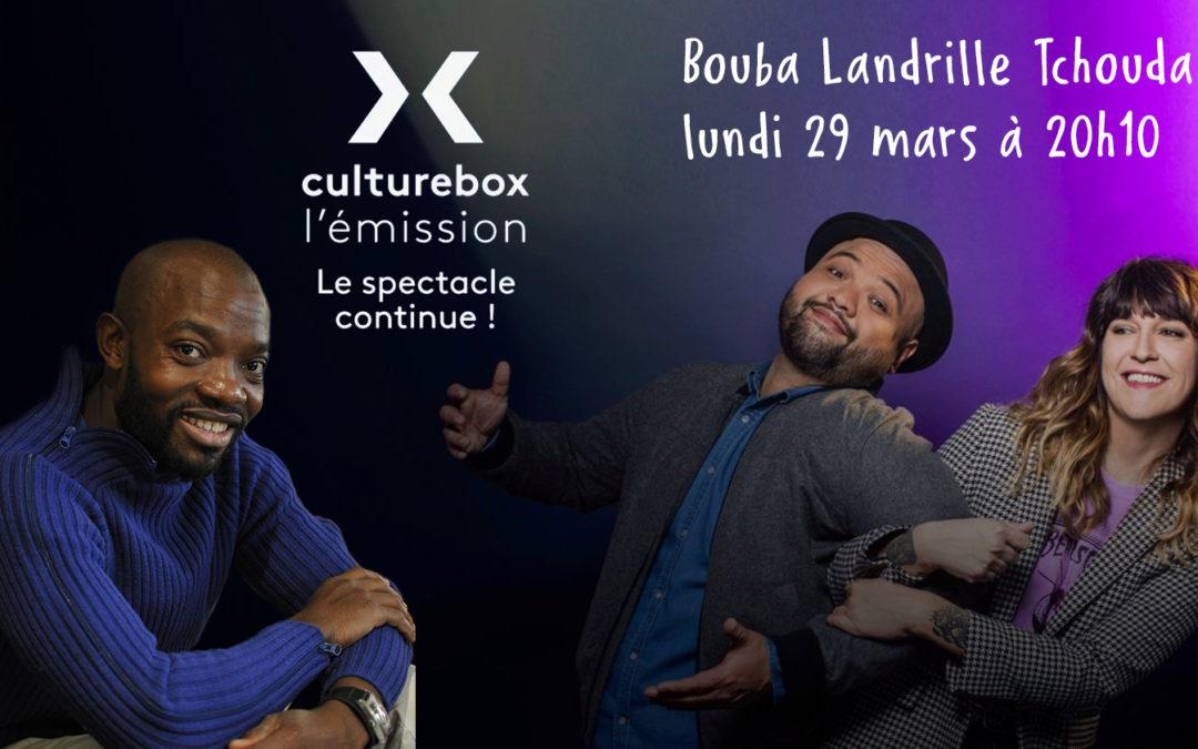 Culturebox avec Bouba Landrille Tchouda